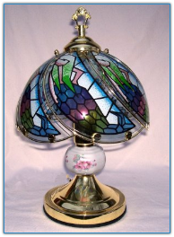 Small Mermaid Touch Lamp