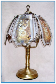 Tiger With Cub Touch Lamp