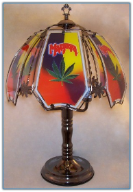 Marijuana Touch Lamp