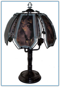 Deer In Wild Touch Lamp