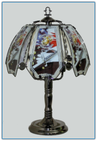Marine Corps Special Touch Lamp