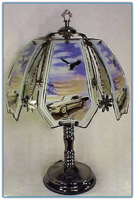 55 Chevy Touch Lamp