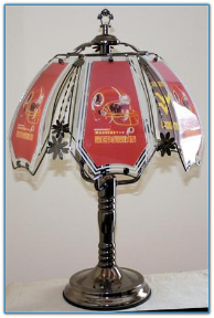 Washington Redskins Touch Lamp