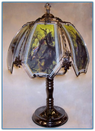 Northern Pike Touch Lamp