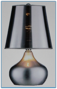 Luster Silver Table Lamp