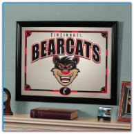 Cincinnati Bearcats - Framed Mirror