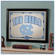 North Carolina Tar Heels - Framed Mirror