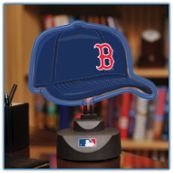 Boston Red Sox - Neon Helmet & Cap Desk Lamp
