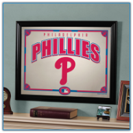 Philadelphia Phillies - Framed Mirror