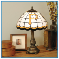 Pittsburgh Pirates - Stained-Glass Tiffany-Style Table Lamp