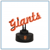 San Francisco Giants - Neon Script Desk Lamp