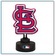 St. Louis Cardinals - Team Logo Neon Desk Lamp