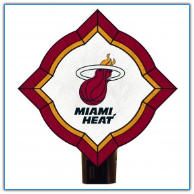 Miami Heat - Vintage Art Glass Night Light