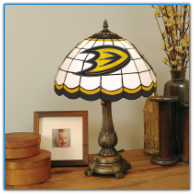 Anaheim Ducks - Stained-Glass Tiffany-Style Table Lamp