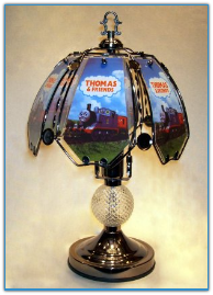 Small Thomas the Train Touch Lamp