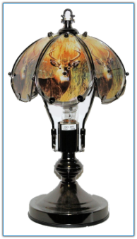 Small Whitetail Buck Touch Lamp
