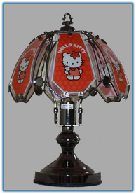 Small Hello Kitty Touch Lamp