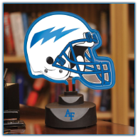 Air Force Falcons - Neon Helmet & Cap Desk Lamp