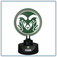 Colorado State Rams -Team Logo Neon Desk Lamp