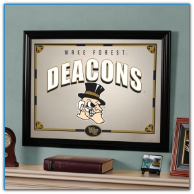 Wake Forest Demon Deacons - Framed Mirror