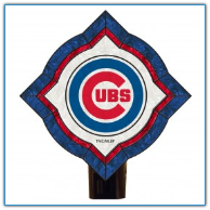 Chicago Cubs - Vintage Art Glass Night Light