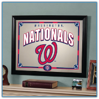 Washington Nationals Framed Mirror