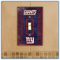 New York Giants - Single Art Glass Light Switch Cover