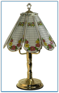 Classic Flower Touch Lamp