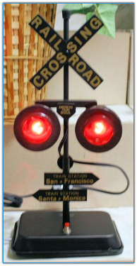 Blinking Railroad Light With Sound