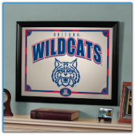 Arizona Wildcats - Framed Mirror