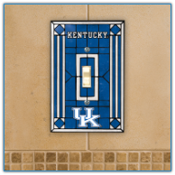 Kentucky Wildcats - Single Art Glass Light Switch Cover