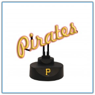 Pittsburgh Pirates - Neon Script Desk Lamp