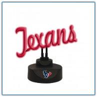 Houston Texans - Neon Script Desk Lamp