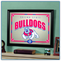 Fresno State Bulldogs - Framed Mirror