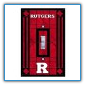 Rutgers Scarlet Knights - Single Art Glass Light Switch Cover