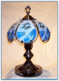 Small Dolphin Touch Lamp