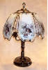 Native American Touch Lamp - Black