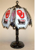 Oklahoma Sooners Touch Lamp
