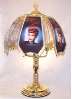 I Love Lucy Brass Chrome Touch Lamp