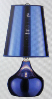 Luster Sapphire Blue Table Lamp
