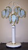 Lotus Flower 5 Globe Table Lamp