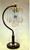 Decorative Black Pendant Touch Table Lamp