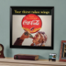 Coca-Cola - Man Framed Mirror
