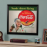 Coca-Cola - Woman Framed Mirror