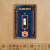 Auburn Tigers - Single Art Glass Light Switch Cover