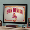 Arizona State Sun Devils - Framed Mirror