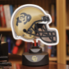 Colorado Buffaloes - Neon Helmet & Cap Desk Lamp