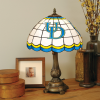 Delaware Blue Hens - Stained-Glass Tiffany-Style Table Lamp