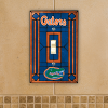 Florida Gators - Single Art Glass Light Switch Cover