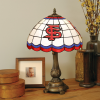 Fresno State Bulldogs - Stained-Glass Tiffany-Style Table Lamp